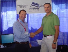 Barton Sales Manager, Christian Brewer and Sail Safe Inc. Owner Doug Holt