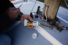 How to fit a Barton Marine mast base organiser