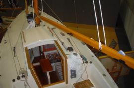 A full complement of Barton deck hardware fitted to the Cornish Crabber 22