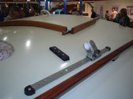 Barton's 25mm 'T' Section track, slider and Genoa Car