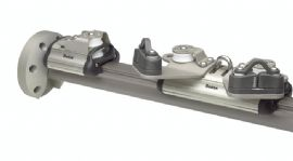 New Mainsheet track system