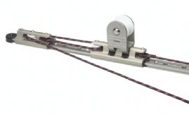 Towable T-Track Genoa Car & end fitting