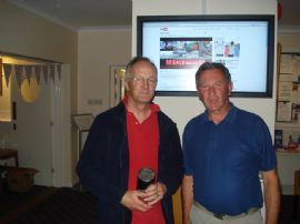 Wed Points Cruiser Winner T French with Mike Harrison