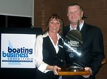 Barton Marine - Director Paul Botterill is awarded the title of Young Business Person of the Year - 2006