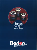 Barton Marine - The Nautilus range of composite winches is launched - 1999