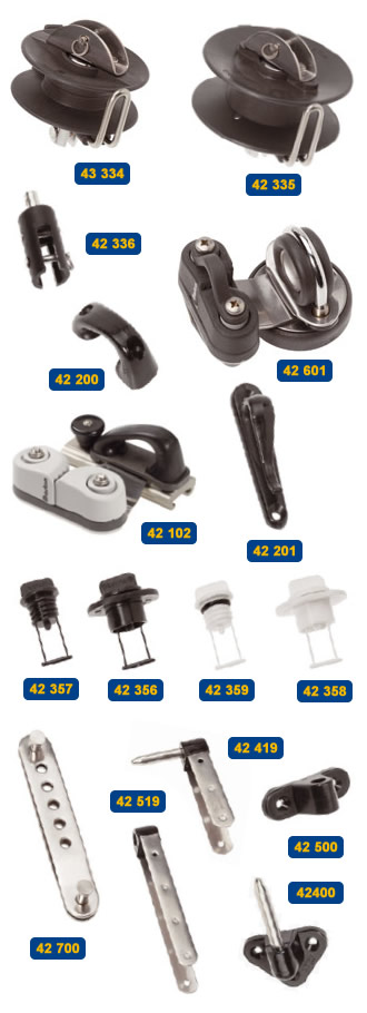 Dinghy & Dayboat fittings