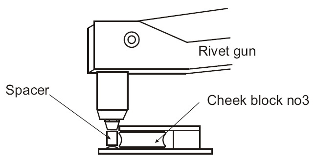 Diagram D - Positioning the fittings on the boom